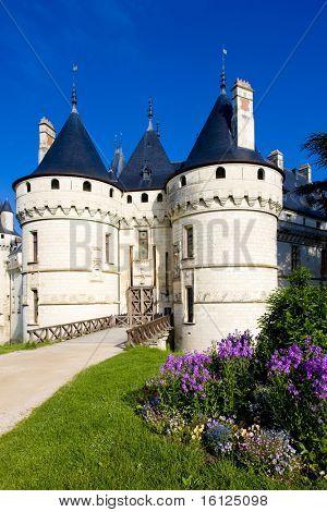 Chaumont-sur-Loire Castle, Centre, France poster