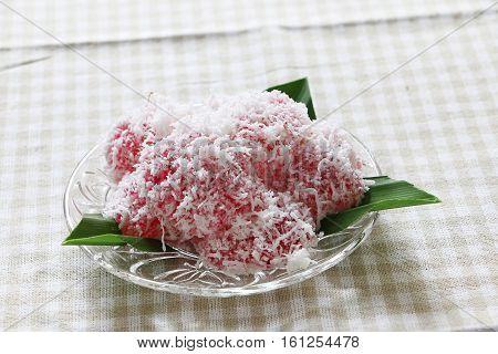 Traditional Malay and Indonesian dessert -Kuih Sago