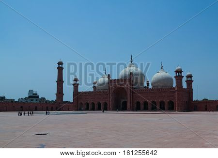 Prayer Hall of Badshahi or Imperial Mosque Lahore Pakistan