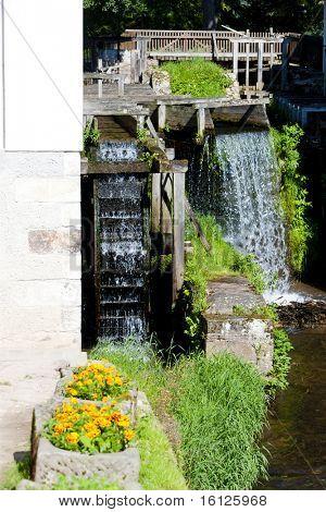 water mill, Ratiborice, Czech Republic