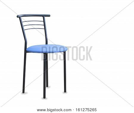 Modern new exclusive kitchen chair isolaited over white