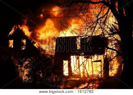 Two Houses On Fire
