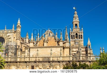 The Cathedral of Saint Mary of the See in Seville - Andalusia, Spain