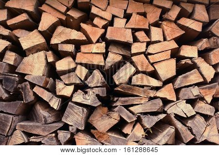Wood pile, fire wood, timber, piece of wood