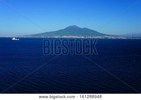 Mount Vesuvius, volcano in Italy near Napoli
