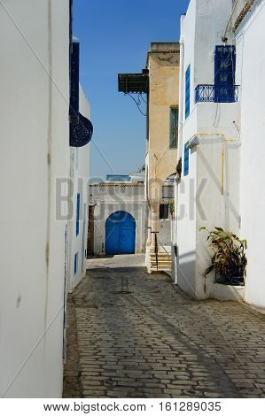 Traditional town in Tunisia, near the capital city Tunis