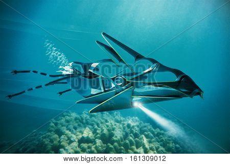 Ufo Under Water
