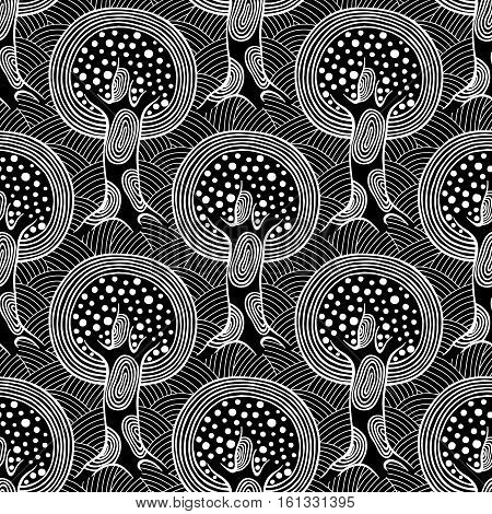 Vector Seamless Pattern, Graphic Illustration