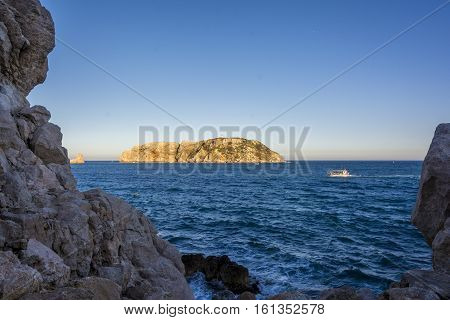 Located just a mile off the coast in front of L Estartit beach, The Medes Islands archipelago is part of the Montgr , Medes Islands and Baix Ter Nature Park. Spanish mediterranean Costa Brava