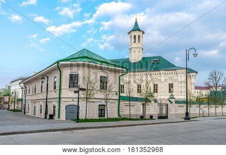 Apanaevskaya Mosque in Old Tatar Sloboda in Kazan