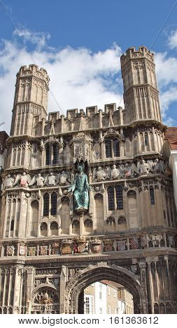 St Augustine Gate In Canterbury