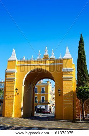 Seville Puerta de la Macarena Arch door in Sevilla Andalusia Spain