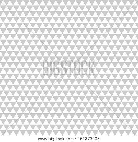Seamless geometric texture. Diamonds and triangles pattern. Vector art.