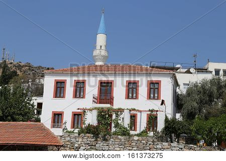 Traditional Bodrum Houses In Turkey