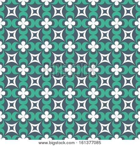 Seamless Pattern Of Different Forms In The Classical Style.