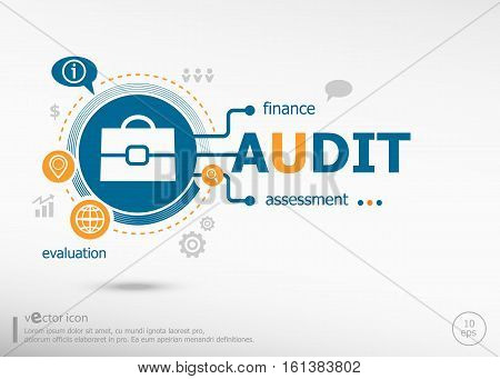 Audit And Marketing Concept.
