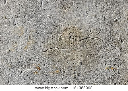 Crack In Grunge Concrete Wall Or Floor