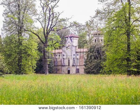 Hdr Miradolo Castle