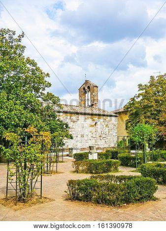 Hdr San Quirico Orcia, Tuscany, Italy