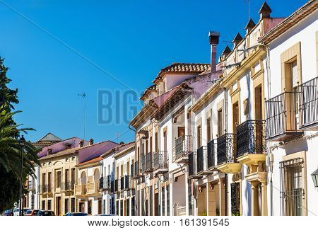 Historical buildings in the town of Baeza - Spain, Andalusia