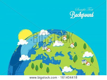 earth nature eco green view background, earth nature eco  green view background