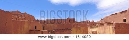 Moroccan Palace, Taourirt Kasbah, Ouarzazate, Morocco, Panorama