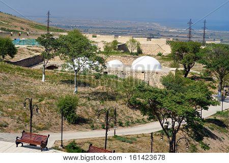 View Of Naryn-kala Fortress And Khan's Bath. Derbent