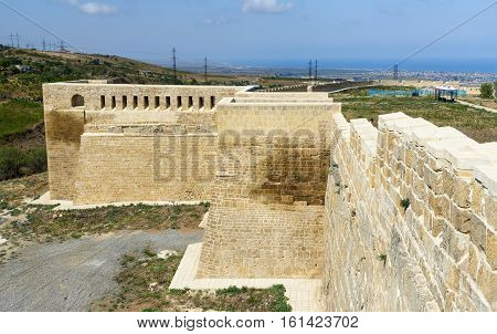 West Gate In Naryn-kala Fortress. Derbent