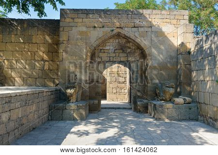 Khan's Palace In Naryn-kala Fortress. Derbent