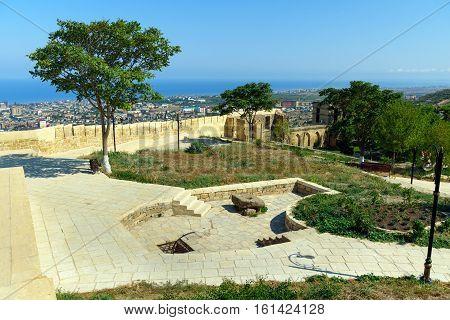 View Of Naryn-kala Fortress. Derbent