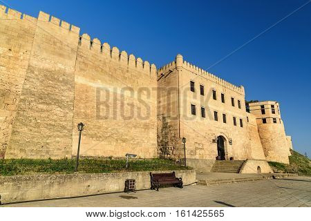 Naryn-Kala fortress gate. Khan's chancery in Derbent. Republic of Dagestan Russia