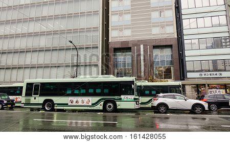 Bus In Kyoto, Japan