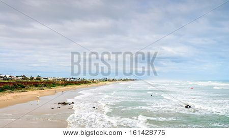 Picturesque view at Middleton beach South Australia
