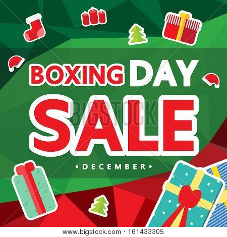 Boxing day sale for christmas day .