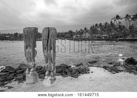 Tiki Statue Hawaii
