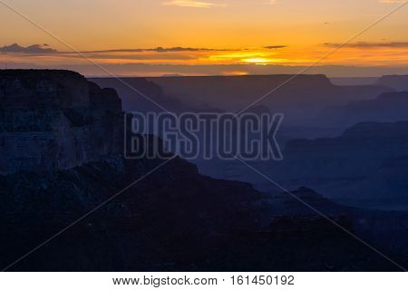 Scenic View Of Grand Canyon