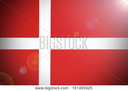 Denmark flag ,Denmark national flag illustration symbol.