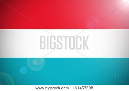 Luxemburg flag ,Luxemburg national flag illustration symbol.