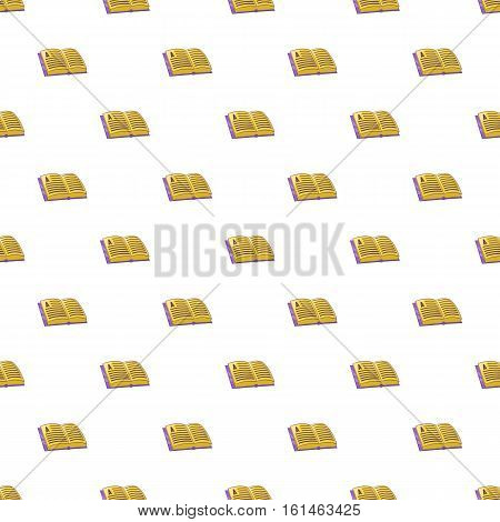 Address book pattern. Cartoon illustration of address book vector pattern for web