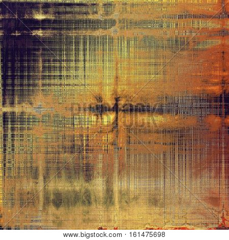 Closeup vintage texture, weathered grunge background. With different color patterns: yellow (beige); brown; gray; red (orange); purple (violet); pink