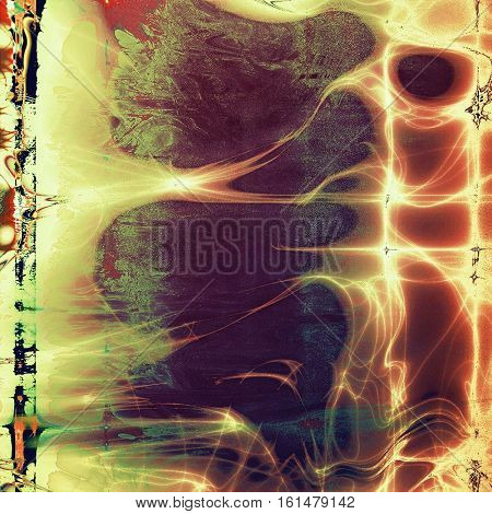 Abstract colorful background or backdrop with grunge texture and different color patterns: yellow (beige); brown; green; red (orange); purple (violet); cyan
