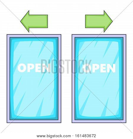 Storefront icon. Cartoon illustration of storefront vector icon for web design