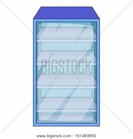 Fridge icon. Cartoon illustration of fridge vector icon for web design