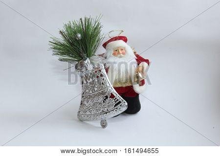 Christmas decorations, Christmas toys, Christmas decorations,Christmas toys, Santa Claus, Santa Claus beard, Santa Claus with a bell, New year, Christmas