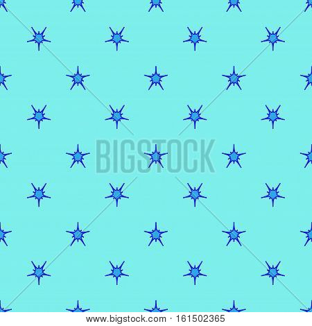 Star geometric seamless pattern. Fashion graphic background design. Modern stylish abstract texture. Colorful template for prints textiles wrapping wallpaper etc. Stock VECTOR illustration