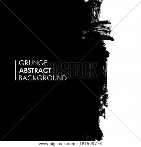 Abstract modern grunge background, brushed space with linear icon