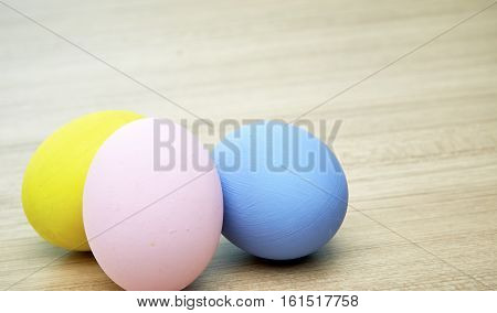 easter egg on wooden background estival, wooden, yellow, traditional