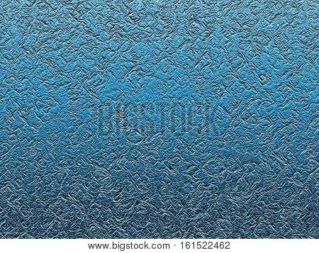 beautiful texture blue metal foil a molten ingot gold