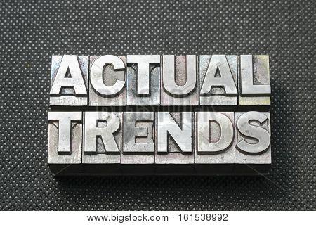 Actual Trends Bm
