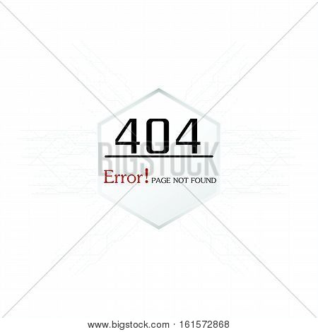 Vectors Abstract background 404 connection error problem